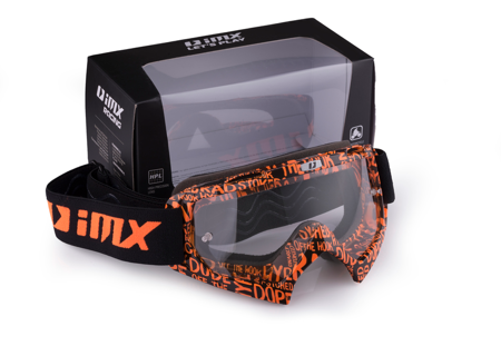 Gogle IMX Mud Graphic orange