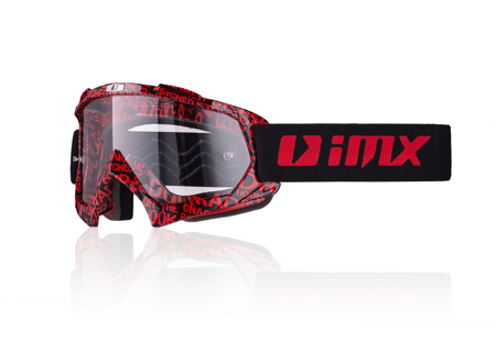 Gogle IMX Mud Graphic red